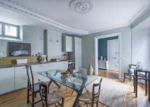 Rénovation complète d'un appartement de 120m2 Paris 10