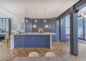 Rénovation complète d'un appartement de 180m2 à Paris