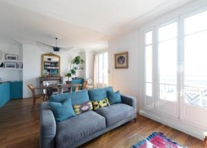 Rénovation haut de gamme Appartement 125 m² Asnières sur Seine